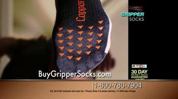 Copper Fit Gripper Socks TV Spot, 'Change Your Workout' Feat. Ashley Judd - Thumbnail 8
