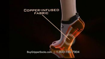 Copper Fit Gripper Socks TV Spot, 'Change Your Workout' Feat. Ashley Judd
