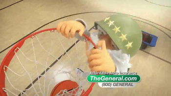 The General TV Spot, 'Slam Dunk' Featuring Shaquille O'Neal - Thumbnail 3
