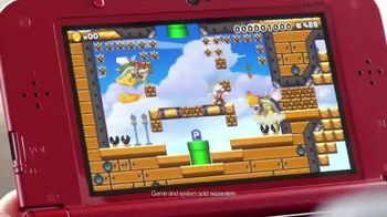 Super Mario Maker TV Spot, 'Play Everywhere. Create Anywhere' - 1151 commercial airings