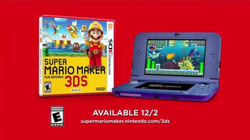 Super Mario Maker TV Spot, 'Play Everywhere. Create Anywhere' - Thumbnail 10
