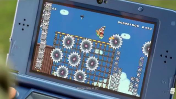 Super Mario Maker TV Spot, 'Play Everywhere. Create Anywhere' - Thumbnail 3