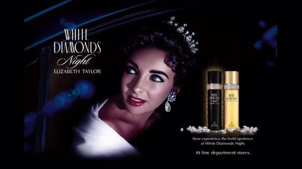 Elizabeth Taylor White Diamonds Night TV Commercial, 'Bold Opulence'