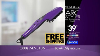 Michel Mercier Arc Styler TV Spot, 'Magically Straightens' - Thumbnail 8