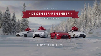 The Lexus December to Remember Sales Event TV Spot, 'Santa Letter' - Thumbnail 10