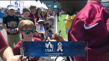 USAA TV Spot, 'Salute to Service: Washington Redskins' - 1 commercial airings