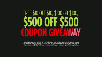 JCPenney Black Friday Deals TV Spot, 'Coupon Giveaway' - Thumbnail 8