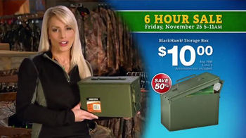 Bass Pro Shops 6 Hour Sale TV Spot, 'Jeans, Storage Bins and Jackets' - Thumbnail 5