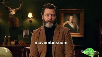 Movember Foundation TV Spot, 'Join the Movement' Featuring Nick Offerman - 16 commercial airings