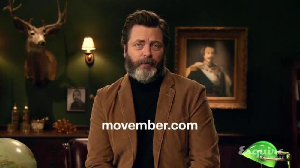 Movember Foundation TV Commercial, 'Join the Movement' Featuring Nick Offerman