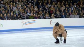 GEICO TV Spot, 'Sumo Wrestler Figure Skating' - Thumbnail 1