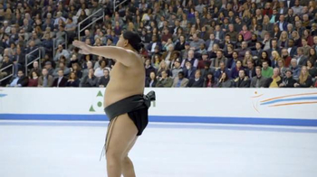 GEICO TV Spot, 'Sumo Wrestler Figure Skating' - Thumbnail 4