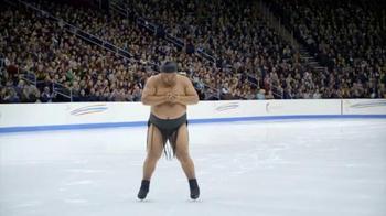 GEICO TV Spot, 'Sumo Wrestler Figure Skating' - Thumbnail 8