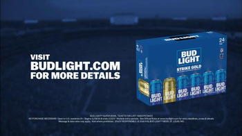 Bud Light Strike Gold TV Spot, 'Super Bowl LI: Tickets for Life' - Thumbnail 6