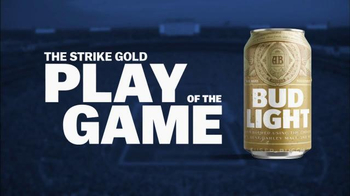 Bud Light Strike Gold TV Spot, 'Super Bowl LI: Tickets for Life' - 17 commercial airings