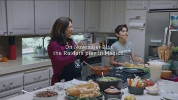 NFL TV Spot, 'Raiders Family Dinner' Featuring DJ Hayden, Latavius Murray - Thumbnail 1