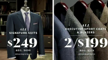JoS. A. Bank Pre-Thanksgiving Sale TV Spot, 'Sweaters, Suits and Coats' - Thumbnail 5