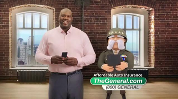 The General TV Spot, 'Fast Quote' Featuring Shaquille O'Neal - Thumbnail 1
