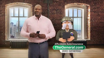 The General TV Spot, 'Fast Quote' Featuring Shaquille O'Neal - Thumbnail 2