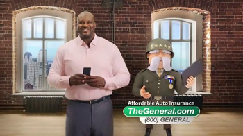 The General TV Spot, 'Fast Quote' Featuring Shaquille O'Neal - Thumbnail 3