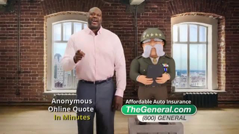 The General TV Spot, 'Fast Quote' Featuring Shaquille O'Neal - Thumbnail 6