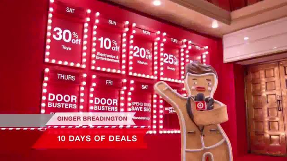 Target 10 Days Of Deals Tv Commercial So Hot Video