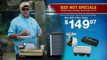 Bass Pro Shops 5 Day Sale TV Spot, 'Camo Throws & Processing Package' - Thumbnail 3