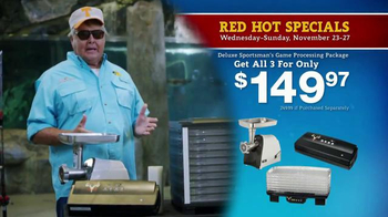 Bass Pro Shops 5 Day Sale TV Spot, 'Camo Throws & Processing Package' - Thumbnail 4