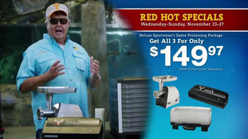 Bass Pro Shops 5 Day Sale TV Spot, 'Camo Throws & Processing Package' - Thumbnail 5