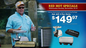 Bass Pro Shops 5 Day Sale TV Spot, 'Camo Throws & Processing Package' - Thumbnail 6
