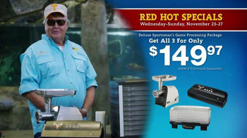 Bass Pro Shops 5 Day Sale TV Spot, 'Camo Throws & Processing Package' - Thumbnail 7