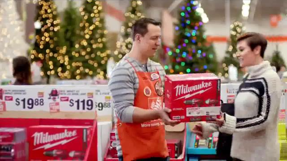 the home depot black friday savings tv commercial orange all over ispottv