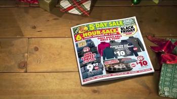 Bass Pro Shops Thanksgiving 5 Day Sale TV Spot, 'Hoodies, Watches & Fryer' - Thumbnail 4