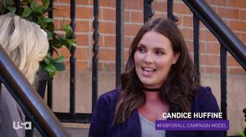 JustFab.com TV Spot, 'USA Network: Fierce' Featuring Candice Huffine - Thumbnail 1