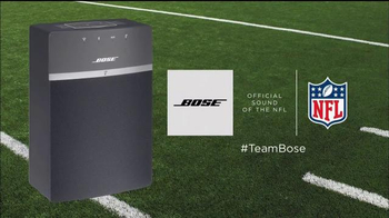 Bose Soundtouch 10 TV Spot, 'Listen In to the NFL' - Thumbnail 7