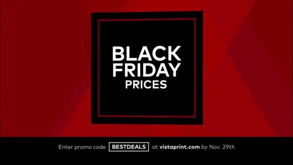 Vistaprint Black Friday & Cyber Monday Deals TV Commercial, \'Your ...