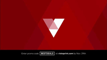 Vistaprint Black Friday & Cyber Monday Deals TV Spot, 'Your Favorites' - Thumbnail 1