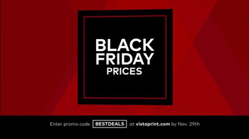 Vistaprint Black Friday & Cyber Monday Deals TV Spot, 'Your Favorites' - Thumbnail 7