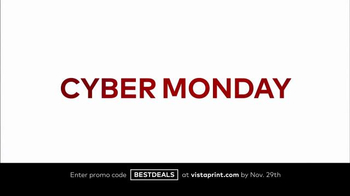Vistaprint Black Friday & Cyber Monday Deals TV Spot, 'Your Favorites' - Thumbnail 2