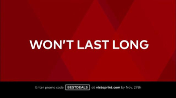 Vistaprint Black Friday & Cyber Monday Deals TV Spot, 'Your Favorites' - Thumbnail 6