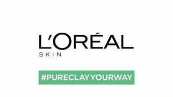L'Oreal Paris Pure-Clay Masks TV Spot, 'Insta-detox' [Spanish] - Thumbnail 10