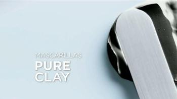 L'Oreal Paris Pure-Clay Masks TV Spot, 'Insta-detox' [Spanish] - Thumbnail 6