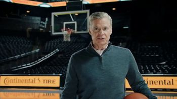 Continental Tire TV Spot, 'Buzzer Beater' Featuring Dan Patrick
