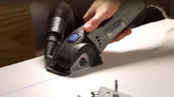 Dremel TV Spot, 'Cutting With the Ultra-Saw and Saw-Max' - Thumbnail 6