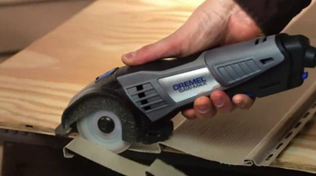 Dremel TV Spot, 'Cutting With the Ultra-Saw and Saw-Max' - 477 commercial airings