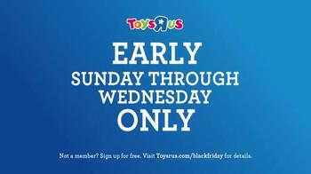 Toys R Us Black Friday TV Spot, 'Early Deals' - Thumbnail 8