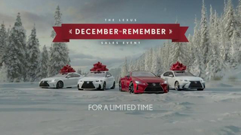 Lexus December to Remember Sales Event TV Spot, '2017 GS 350 F Sport' - Thumbnail 6