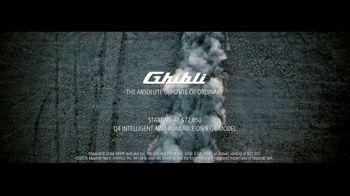 2017 Maserati Ghibli TV Spot, 'You Don't Have to Speak Italian' [T1] - Thumbnail 9