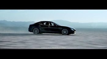 2017 Maserati Ghibli TV Spot, 'You Don't Have to Speak Italian' [T1] - Thumbnail 6