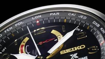 Seiko Prospex World Time Solar Chronograph TV Spot, 'Up to the Minute' - Thumbnail 4